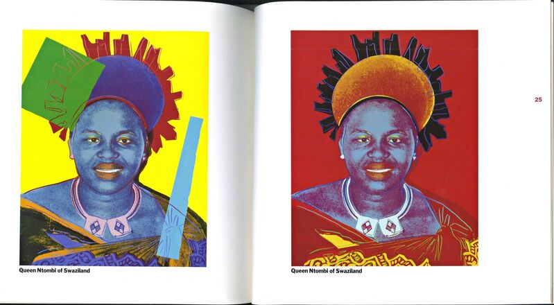 Andy Warhol, 'Reigning Queens (Limited Edition, Numbered)', 1985, Ephemera or Merchandise, Limited edition numbered exhibition catalogue with Warhol's authorized plate signature. Lifetime edition., Alpha 137 Gallery Gallery Auction