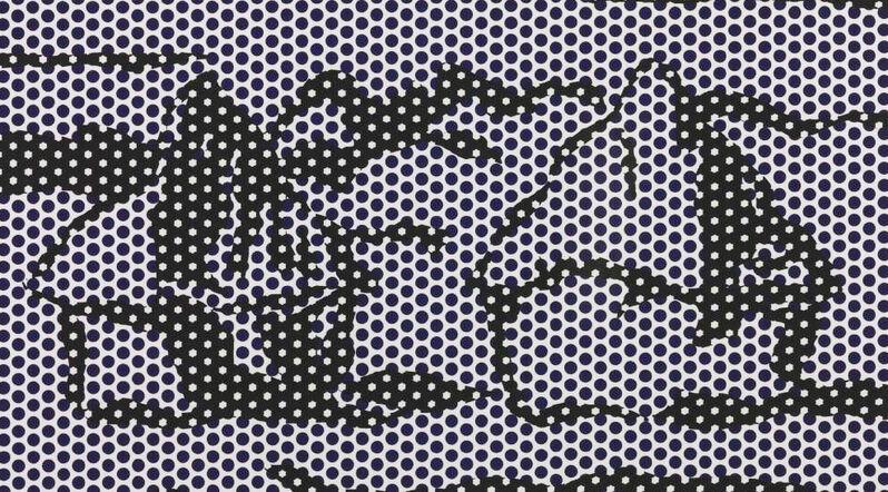 Roy Lichtenstein, 'Haystack #3', 1969, Print, Relief Print on Special Arjomari paper, Georgetown Frame Shoppe