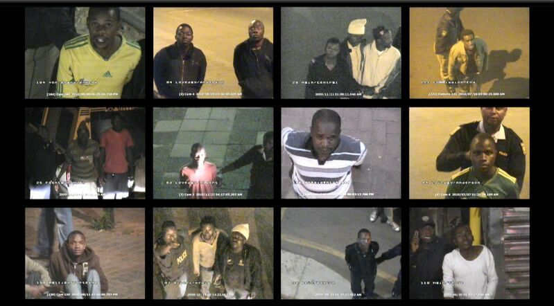 "Mikhael Subotzky, 'CCTV', 2011, Video/Film/Animation, Found CCTV footage on Blu-Ray player 32"" HD screen, Goodman Gallery"