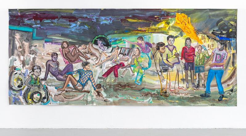 Hend Samir, 'Soft Revolt', 2021, Painting, Acrylic on canvas, Gypsum Gallery