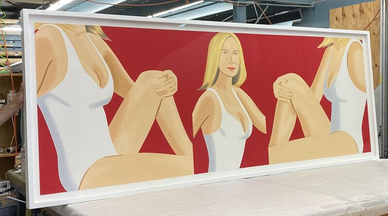 Alex Katz, 'Alex Katz, Coca-Cola Girl 9 ', 2019, Print, Silkscreen, Oliver Cole Gallery