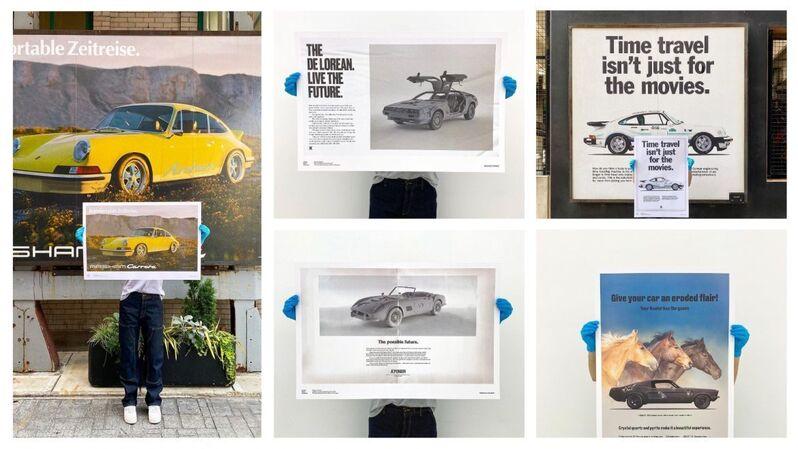 Daniel Arsham, 'Daniel Arsham — Fictional Advertisements — Signed Set of 5', 2021, Print, Signed Offset Print on Paper, artempus