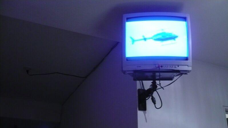 Bjørn Melhus, 'Policia', 2007, Video/Film/Animation, 2 frames looped, West Den Haag