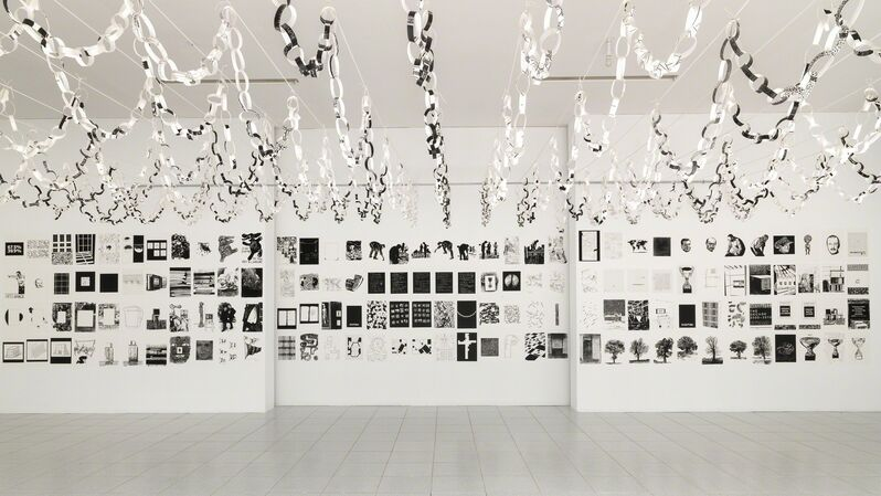 Art & Language, 'Portraits and a Dream III', 2013, Installation, Paper and canvas, Museum Dhondt-Dhaenens