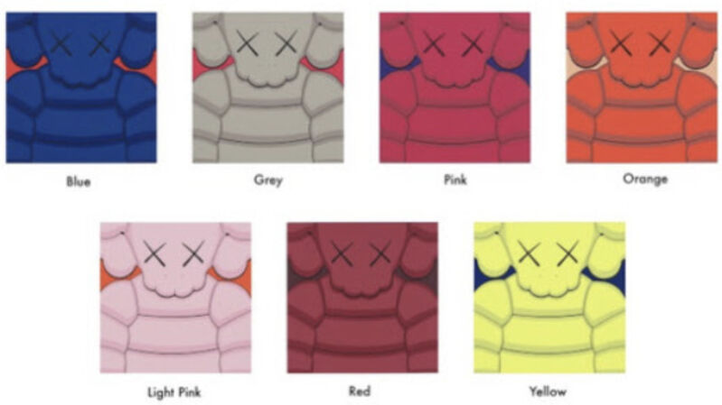 KAWS, 'What Party (Complete set of 7)', 2020, Print, Screenprint on Saunders Waterford 435gm HP hi-white paper, Pop Fine Art
