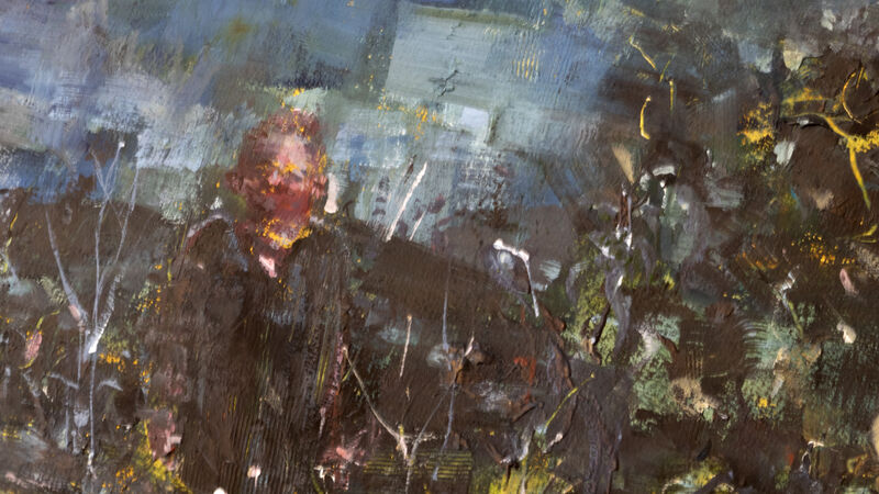 Alex Merritt, 'Orchard', 2021, Painting, Gouache & Watercolor on Paper, Aux Gallery