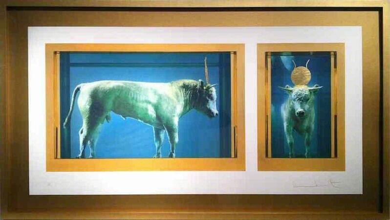Damien Hirst, 'The Golden Calf', 2009, Print, Silkscreen and gold leaf on 410gsm Somerset paper, DTR Modern Galleries