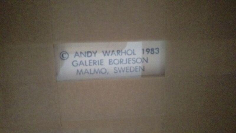 Andy Warhol, 'Ingrid (Herself) Artist Proof (16/20) F&S II.313', 1983, Print, Silkscreen on Lenox Museum Board, Reuben Colley Fine Art