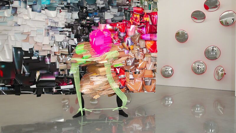 Justene Williams, 'No mind (a performance in three parts)', 2015, Video/Film/Animation, Three channel HD video, sound, colour, National Gallery of Victoria