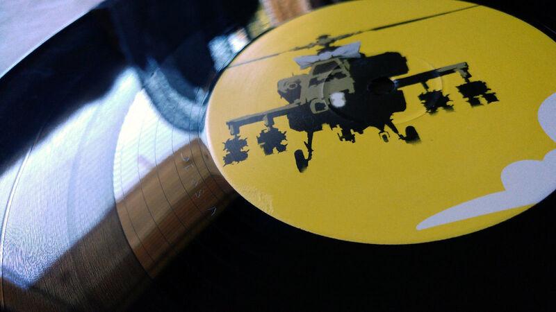 Banksy, 'Flat Beat', 2009, Ephemera or Merchandise, LP cover, AYNAC Gallery