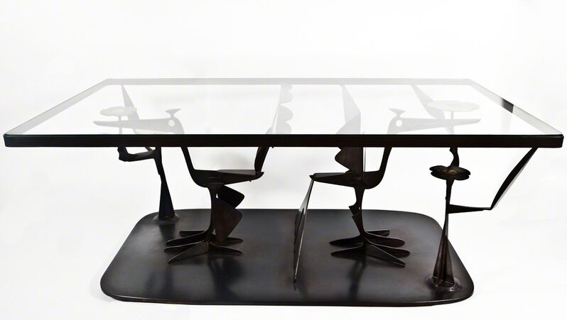 John-Paul Philippe, 'Bird Coffee Table', 2012, Design/Decorative Art, Steel with brass and patina, Cristina Grajales Gallery