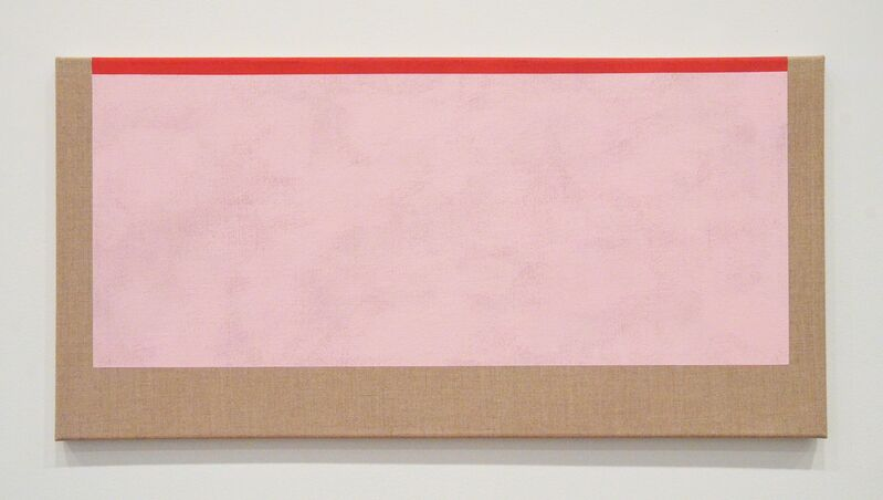 Sharon Brant, 'Pink and Red II', 2017, Painting, Acrylic on linen, Minus Space