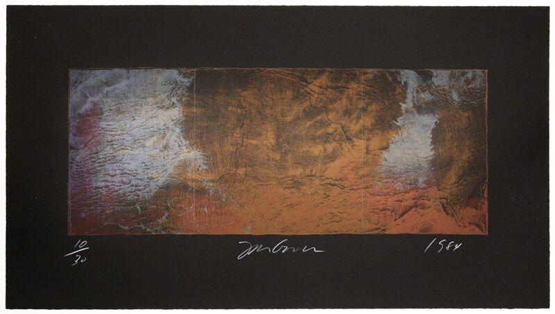 Joe Goode, 'Forest Fire Lithograph 364C', 1984, Print, Lithograph on paper, KOKI ARTS