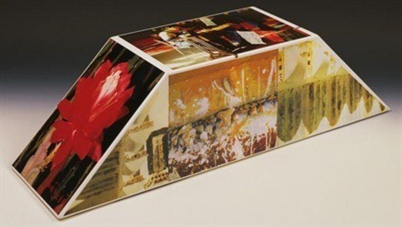 Robert Rauschenberg, 'Tibetan Keys (Double Bevel)', 1987, Sculpture, Sculpture with photo-screenprinted decals, etc., Hamilton-Selway Fine Art
