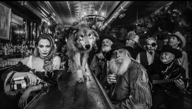David Yarrow, 'The Usual Suspects 2', 2020, Photography, Silver gelatin print, ArtLife Gallery