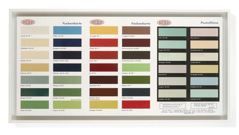 Damien Hirst, 'Colour Chart', 2017, Print, Giclee, DELAHUNTY