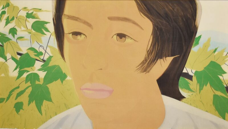 Alex Katz, 'Boy with Branch I', 1975, Print, Aquatint in seven colors, Georgetown Frame Shoppe