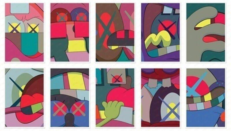 KAWS, 'Ups and Downs Portfolio', 2013, Print, Screenprint, Marcel Katz Art