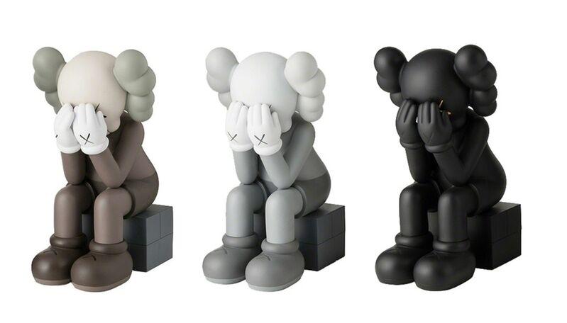 KAWS, 'Passing Through (Set of 3)', 2013, Sculpture, Painted cast vinyl, Lougher Contemporary