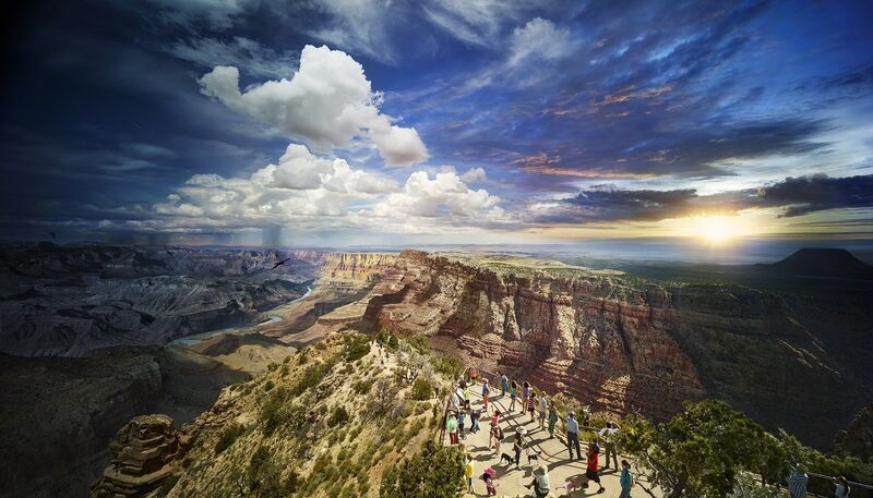 Stephen Wilkes, 'Grand Canyon National Park, Arizona', 2015, Photography, Archival digital C-print, Robert Klein Gallery