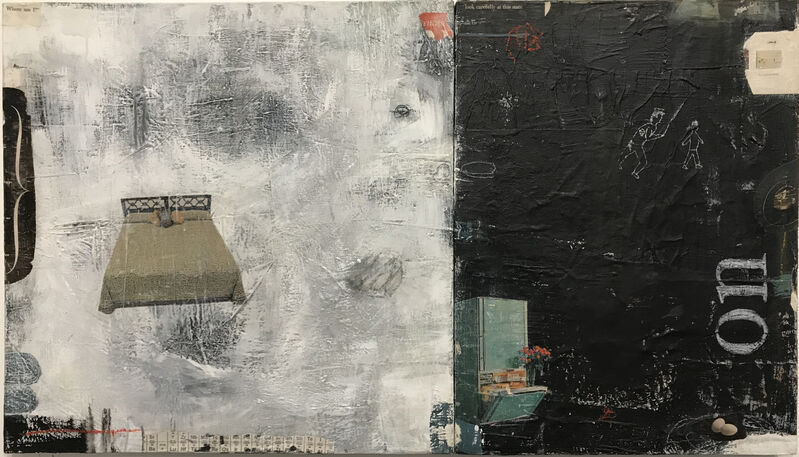 Casebeer, 'Detail', 2021, Mixed Media, Collage and paint, McVarish Gallery