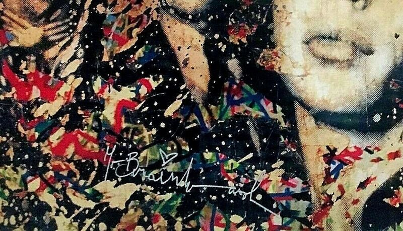 Mr. Brainwash, 'The Rolling Stones, signed', 2008, Print, Offset Lithograph, The Untitled Space