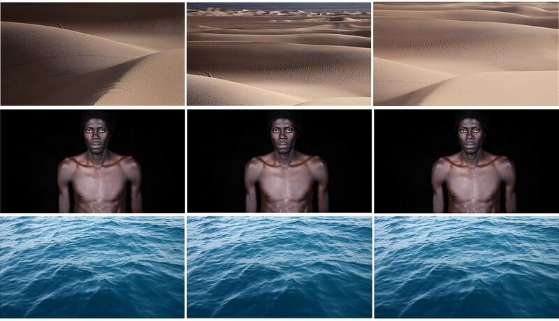 Leila Alaoui, 'Crossings', 2013, Video/Film/Animation, Three channels video installation, Voice Gallery