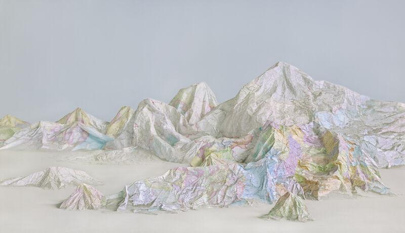 Ji Zhou, 'The Map No. 6', 2015, Photography, Archival pigment print, Eli Klein Gallery