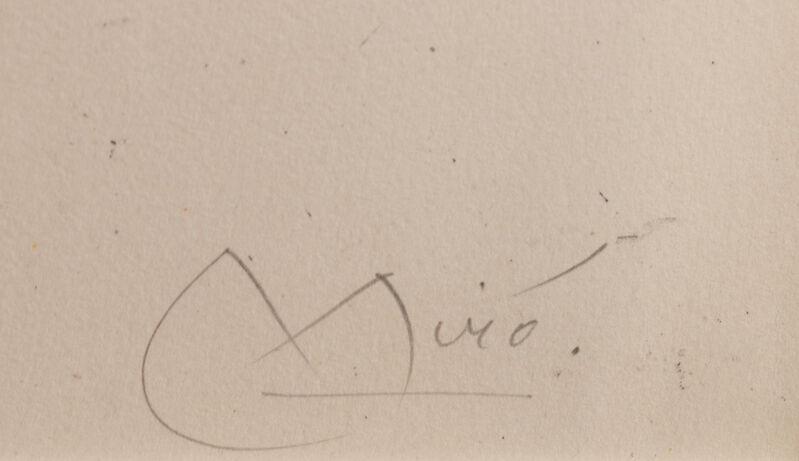 Joan Miró, 'La Cascade', 1964, Print, Color lithograph, Hindman