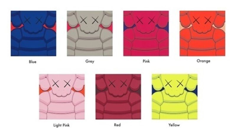 KAWS, 'What Party (Complete Set of 7)', 2020, Print, Screenprint on Saunders Waterford 435gm HP hi-white paper, Carmichael Gallery