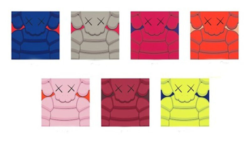 KAWS, 'What Party (Set of 7)', 2020, Print, Screenprint, Curator Style
