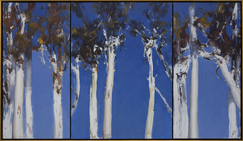 Ken Knight, 'Dance of the Scribbly Gum', 2018, Painting, Oil on Board, Wentworth Galleries