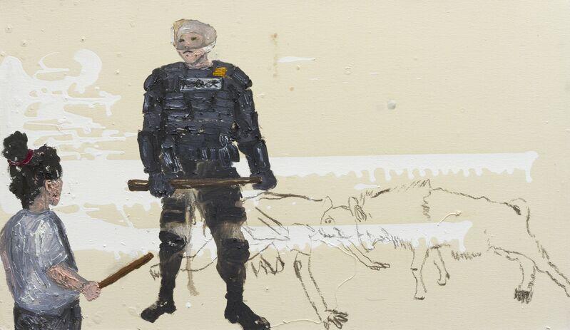 Camila Soato, 'Experiência polissistêmica№18', 2013, Painting, Oil on canvas, Zipper Galeria