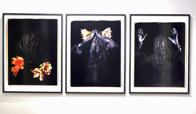 Maria Magdalena Campos-Pons, 'Unspeakable Sorrow ', 2010, Photography, Pigment print on Melonex film, 532 Gallery Thomas Jaeckel
