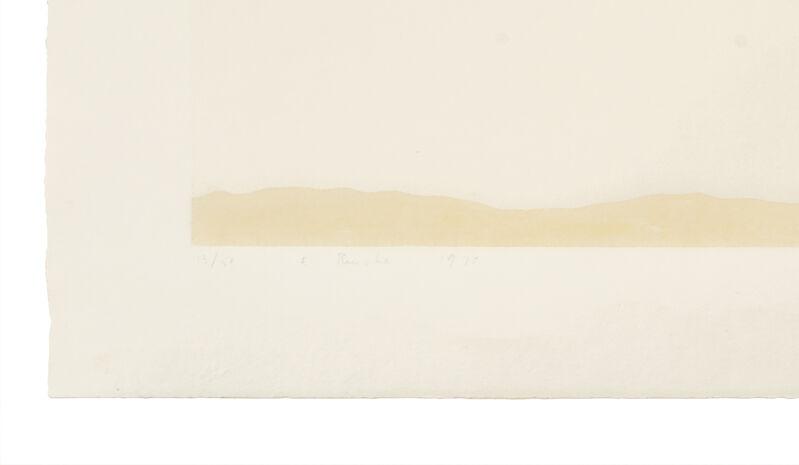 Ed Ruscha, 'Pepto-Caviar Hollywood', 1970, Print, Screenprint with Pepto-Bismal and caviar, ARCHEUS/POST-MODERN Gallery Auction