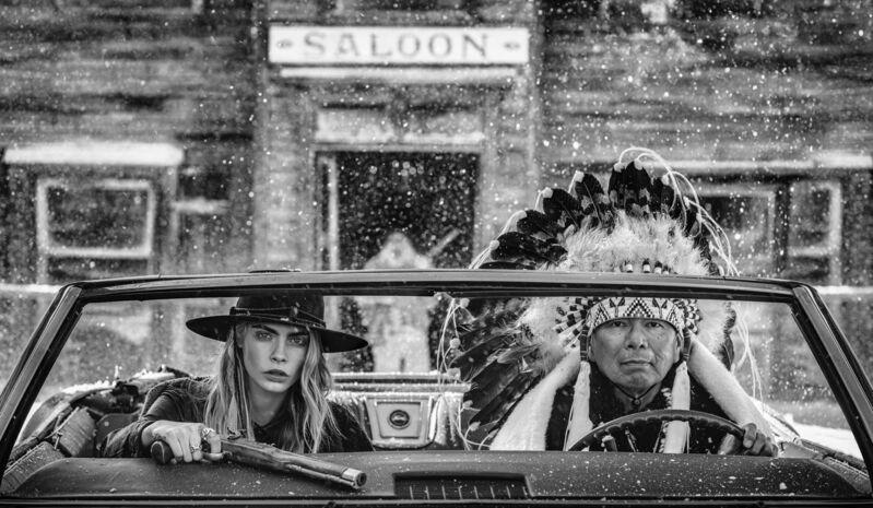 David Yarrow, 'The Getaway', 2020, Photography, Archival Pigment Print, Samuel Lynne Galleries