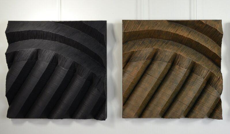 Frédérique Jeantet, 'Rytmique des failles', 2018, Mixed Media, Resin, Magreen Gallery