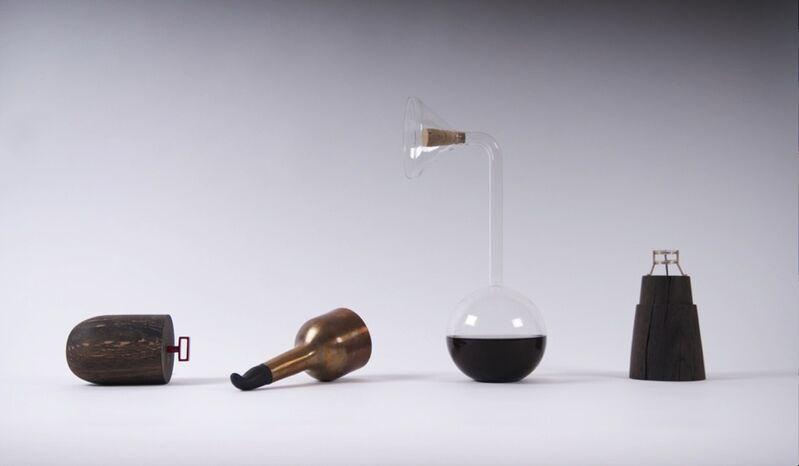 Carolina Wilcke, 'Please Do Touch', 2010, Installation, 600yr. old oak wood, glass, silver, Priveekollektie Contemporary Art | Design