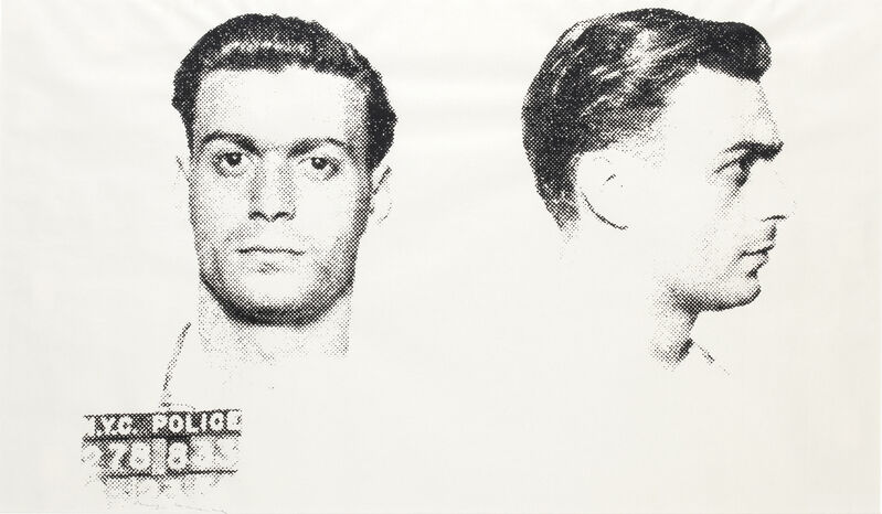 Andy Warhol, 'The Thirteen Most Wanted Men - Louis M.', 1967, Print, Screenprint on paper, RestelliArtCo.