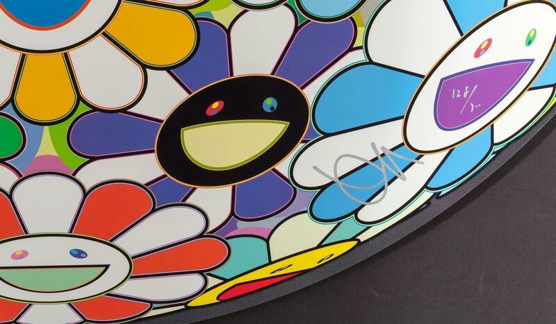 Takashi Murakami, 'Flowerball: Want to Hold You', 2015, Print, Screenprint in colors on paper, Heritage Auctions