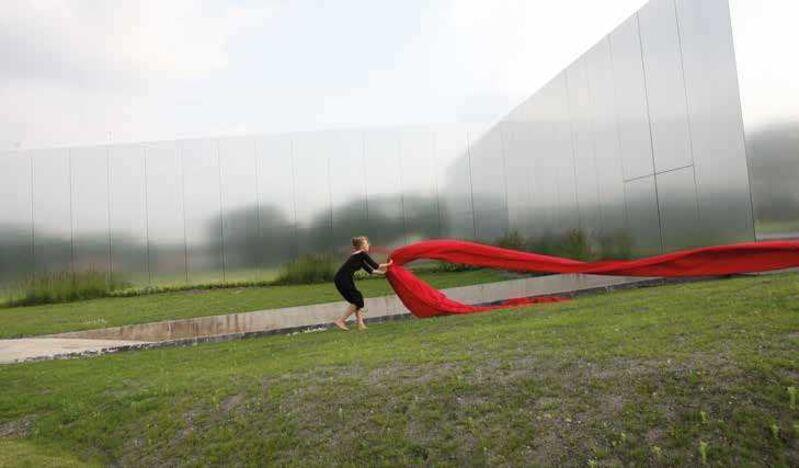 Olga Kisseleva, 'Contre-Temps', 2013, Video/Film/Animation, Performative video 4'18  immersive installation  Louvre-Lens, Jozsa