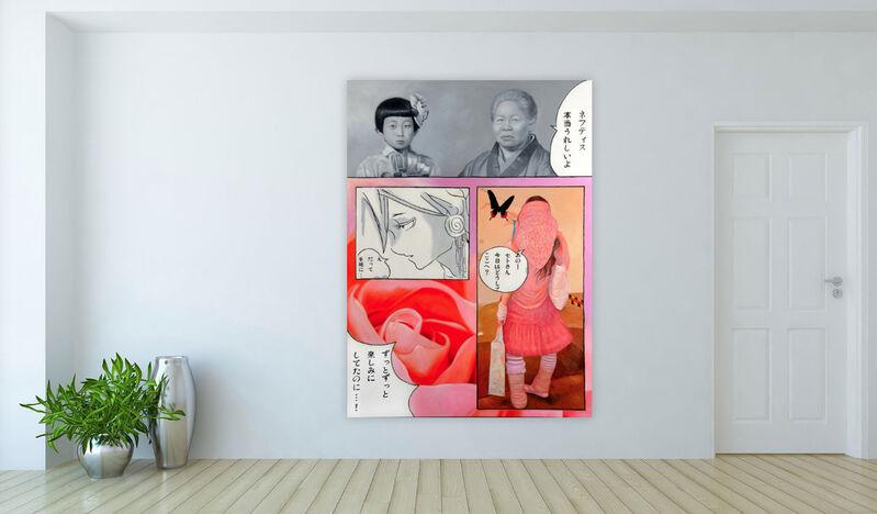 Jimmy Yoshimura, 'kawai2', 2009, Painting, Oil on canvas, Galerie Jacob Paulett