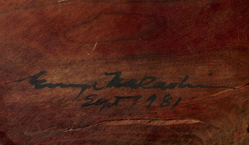 George Nakashima, 'Coffee Table', 1981, Design/Decorative Art, Walnut, 1950