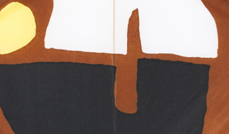 Pablo Figueroa, 'Composition M01', 2020, Drawing, Collage or other Work on Paper, Silk paper, wood, DerniersJours
