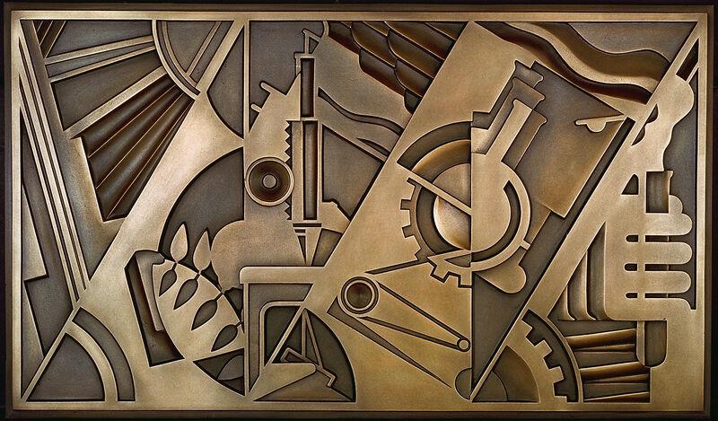 Roy Lichtenstein, 'Peace Through Chemistry Bronze', 1971, Sculpture, Bronze wall relief, Gemini G.E.L. at Joni Moisant Weyl