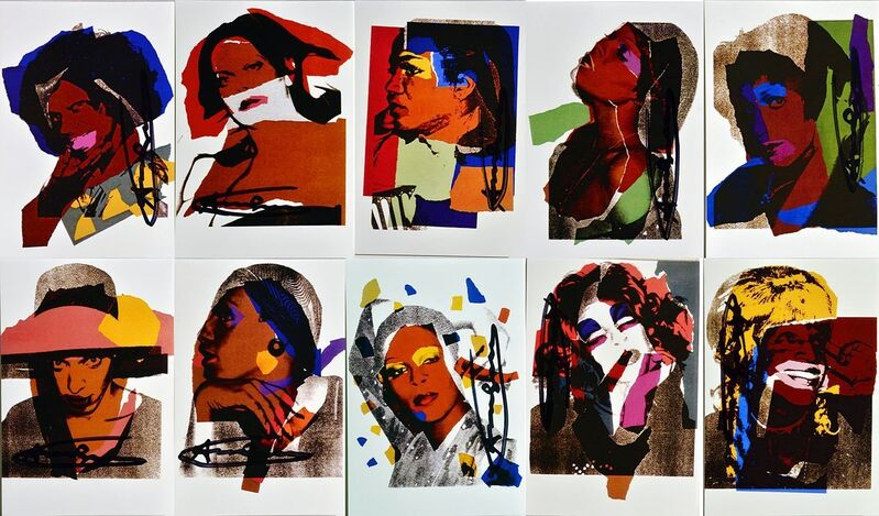 Andy Warhol, 'Andy Warhol, Ladies and Gentlemen Announcement Cards, 1975', 1975, Print, Offset Lithograph, Lyons Gallery