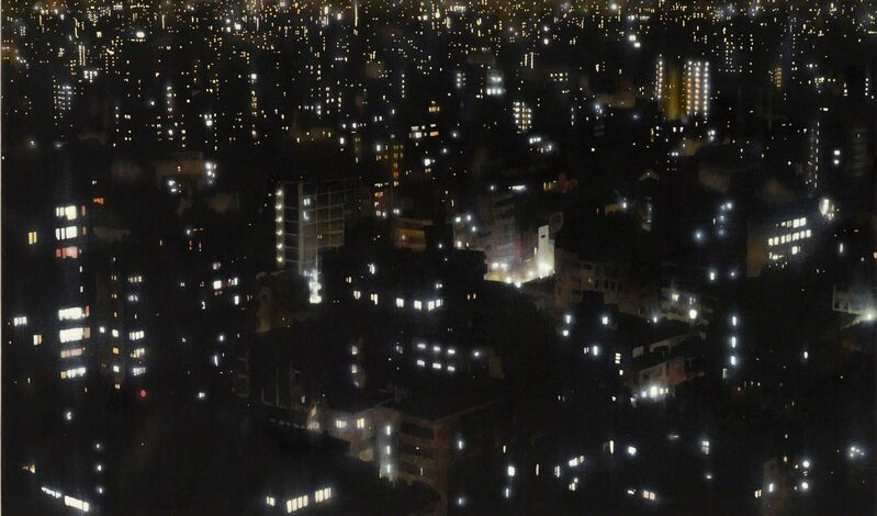 Tokuro Sakamoto, 'Night View', 2014, Painting, Acrylic on Japanese paper, Art Front Gallery