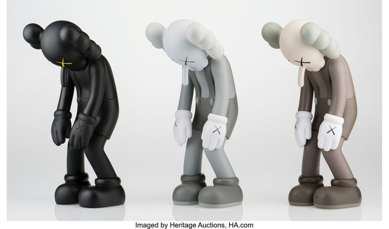 KAWS, 'Small Lie (set of three works)', 2017, Other, Painted cast vinyl, Heritage Auctions