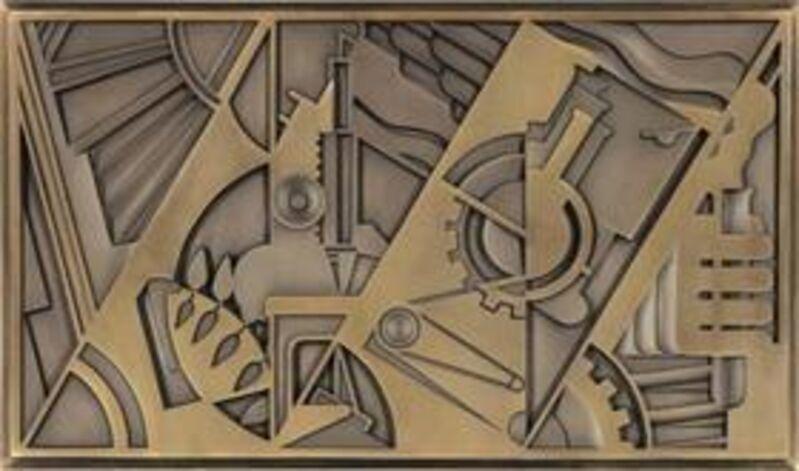 Roy Lichtenstein, 'Peace Through Chemistry', 1971, Sculpture, Bronze, David Benrimon Fine Art