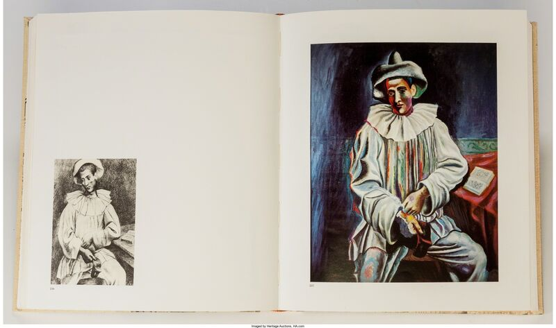 Pablo Picasso, 'Picasso Théâtre by Douglas Cooper', 1967, Print, Book with an engraving with drypoint and scraper on Rives paper, Heritage Auctions